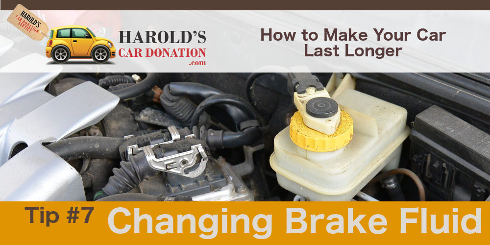 changing your brake fluid