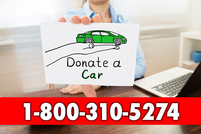 donating your car (sign)