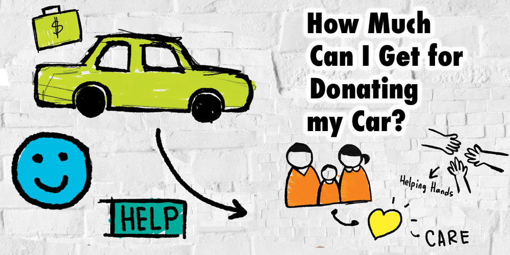 How much can I get when donating my car